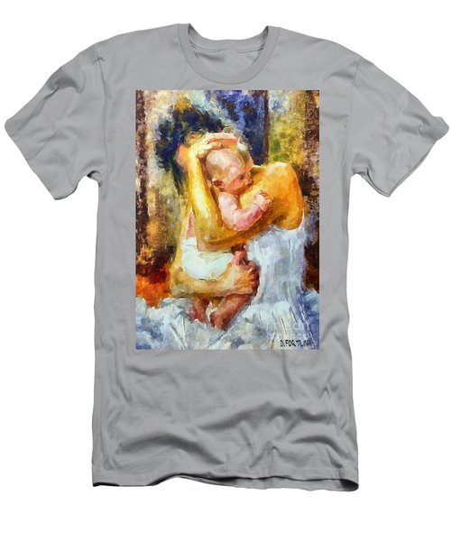 Tender Moment Men's T-Shirt (Slim Fit) by Dragica  Micki Fortuna