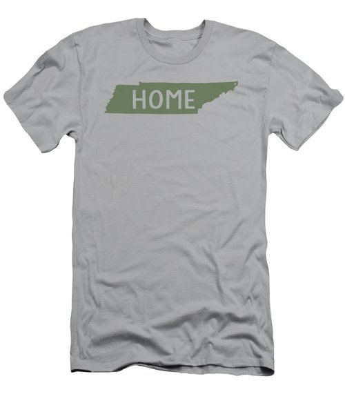 Tennessee Home Green Men's T-Shirt (Slim Fit) by Heather Applegate
