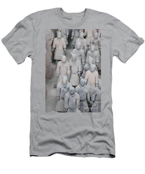 Terra Cotta Warriors Detail Men's T-Shirt (Athletic Fit)