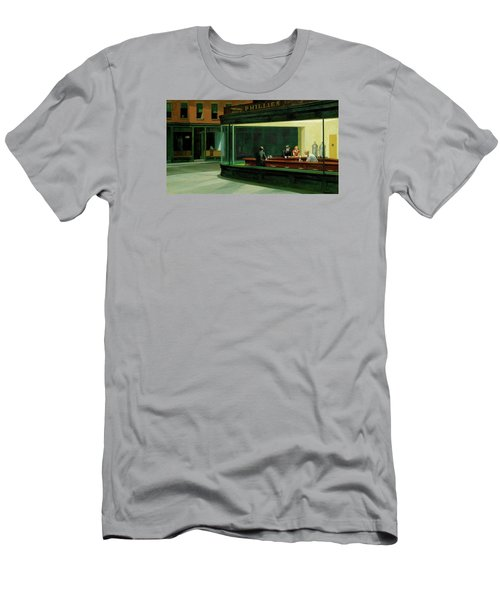Test Mountain Men's T-Shirt (Slim Fit) by Sean McDunn