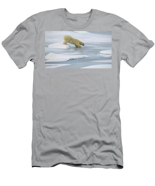 Testing The Ice Men's T-Shirt (Athletic Fit)