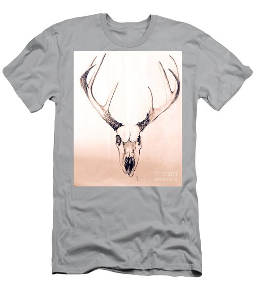 Texas Mount Deer Men's T-Shirt (Athletic Fit)