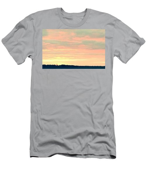 Men's T-Shirt (Slim Fit) featuring the photograph Texas On The Horizon by John Glass