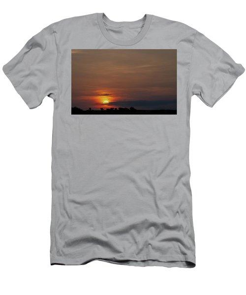 Texas Sunrise Men's T-Shirt (Athletic Fit)
