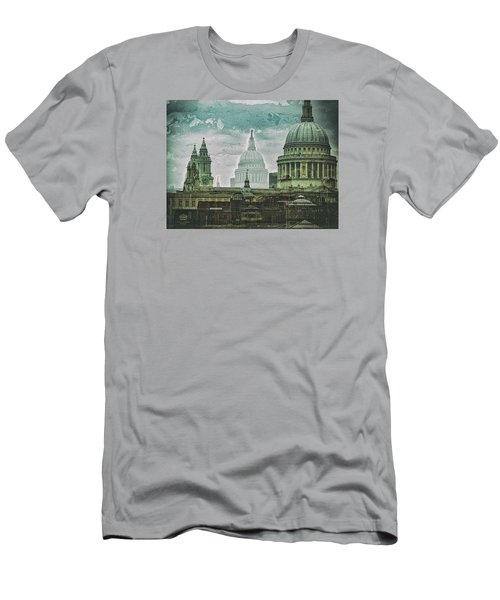 Thamesscape 2 -  Ghosts Of London Men's T-Shirt (Athletic Fit)