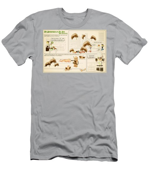 Men's T-Shirt (Slim Fit) featuring the photograph The Adventures Of Dr Ogel by Mark Fuller