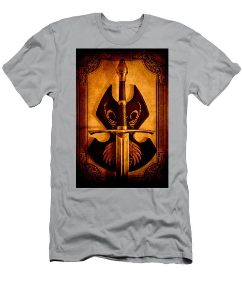 The Art Of War - Eternal Portrait Of A Warrior Men's T-Shirt (Athletic Fit)