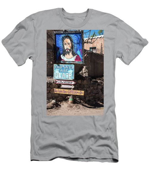 The Art Place In Chimayo Men's T-Shirt (Athletic Fit)
