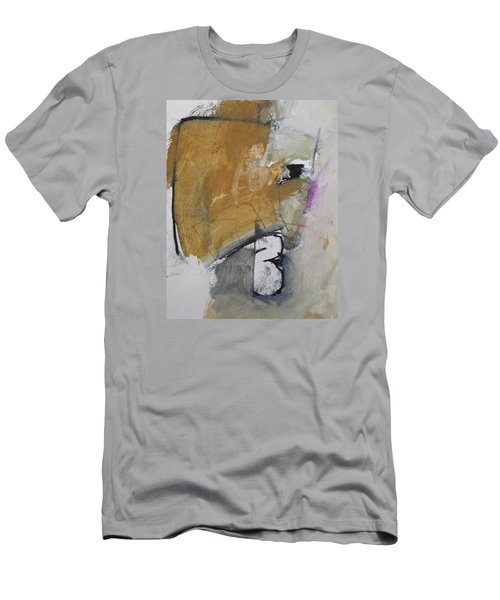 Men's T-Shirt (Slim Fit) featuring the painting The B Story by Cliff Spohn