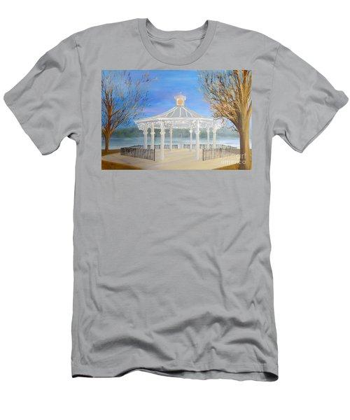 The Bandstand Basingstoke War Memorial Park Men's T-Shirt (Athletic Fit)