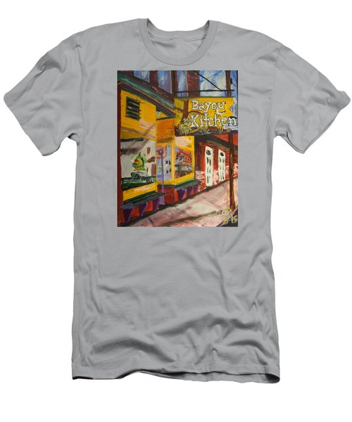 The Bayou Kitchen Men's T-Shirt (Athletic Fit)