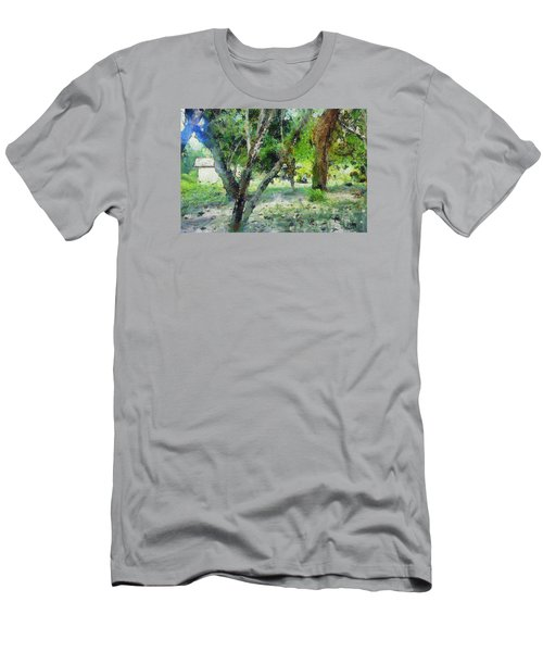 The Beauty Of Trees Men's T-Shirt (Slim Fit) by Ashish Agarwal