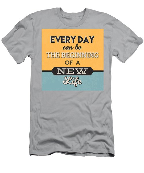 The Beginning Of A New Life Men's T-Shirt (Athletic Fit)