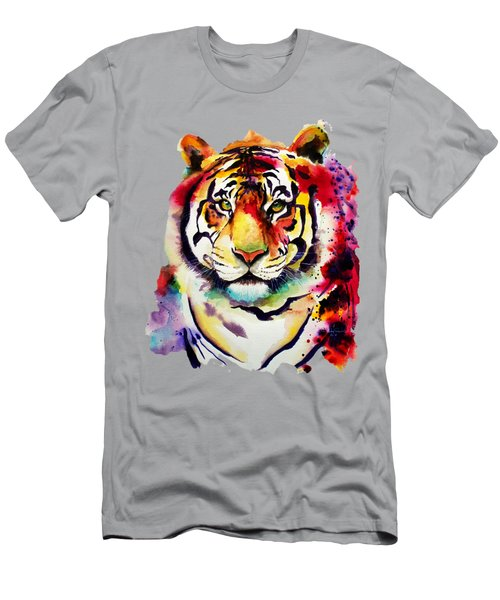 The Big Tiger Men's T-Shirt (Athletic Fit)
