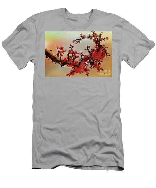 The Bloom Of Cherry Blossom Men's T-Shirt (Athletic Fit)