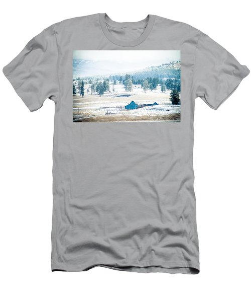 The Blue Barn Men's T-Shirt (Athletic Fit)