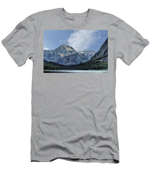 The Blue Mountains Of Glacier National Park Men's T-Shirt (Athletic Fit)