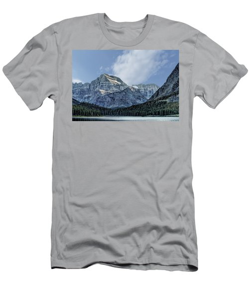 The Blue Mountains Of Glacier National Park Men's T-Shirt (Athletic Fit)