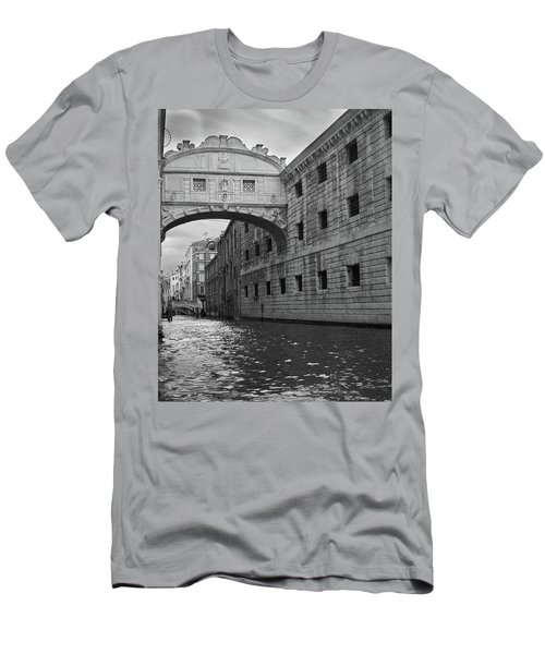 Men's T-Shirt (Slim Fit) featuring the photograph The Bridge Of Sighs, Venice, Italy by Richard Goodrich