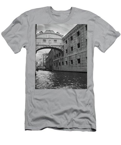 The Bridge Of Sighs, Venice, Italy Men's T-Shirt (Athletic Fit)