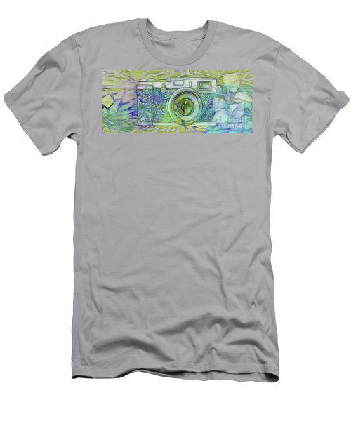 Men's T-Shirt (Slim Fit) featuring the digital art The Camera - 02c5b by Variance Collections