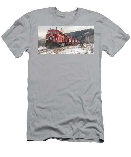 The Canadian Pacific Holiday Train Men's T-Shirt (Athletic Fit)