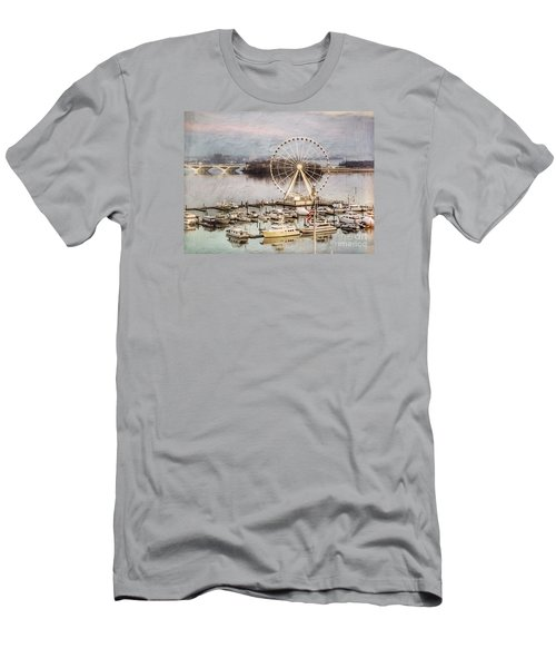 The Capital Wheel At National Harbor Men's T-Shirt (Athletic Fit)