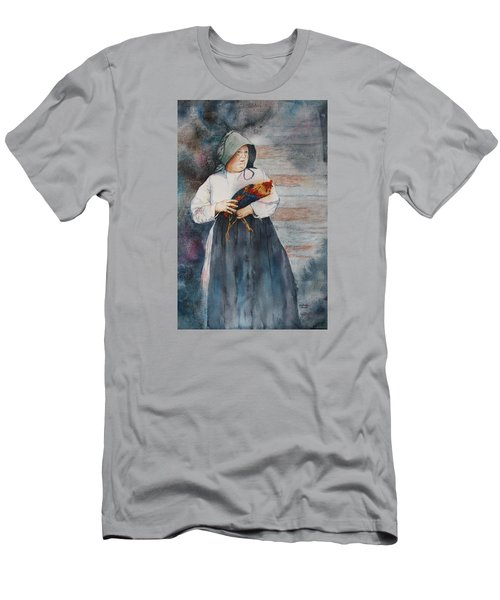 Men's T-Shirt (Slim Fit) featuring the painting The Capture Of Beauregard by Patsy Sharpe