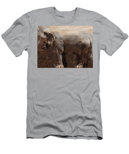 Men's T-Shirt (Slim Fit) featuring the digital art The Cave by Robert Orinski