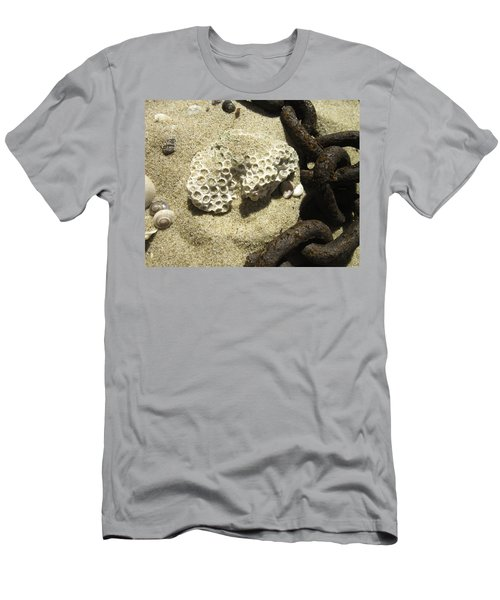 The Chain And The Fossil Men's T-Shirt (Slim Fit) by Trish Tritz