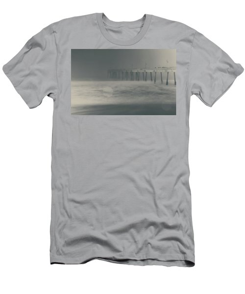 Men's T-Shirt (Slim Fit) featuring the photograph The Chill In My Bones by Laurie Search