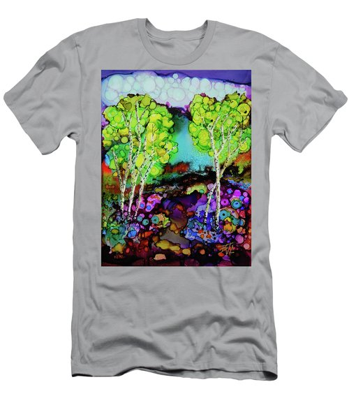 The Colors Of Colorado Men's T-Shirt (Athletic Fit)