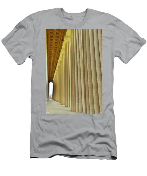 The Columns At The Parthenon In Nashville Tennessee Men's T-Shirt (Athletic Fit)
