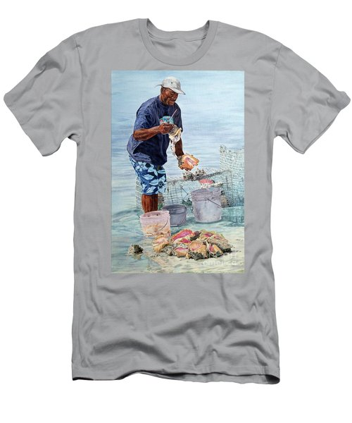 The Conch Man Men's T-Shirt (Athletic Fit)