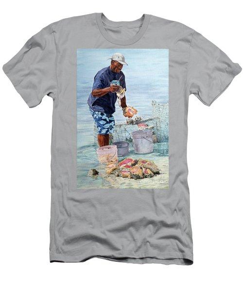 The Conch Man Men's T-Shirt (Athletic Fit)