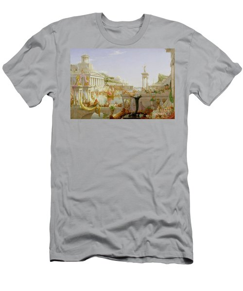 The Course Of Empire - The Consummation Of The Empire Men's T-Shirt (Athletic Fit)