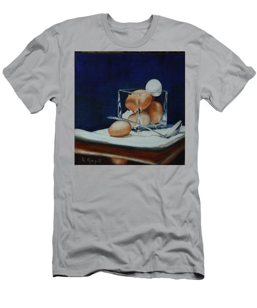Men's T-Shirt (Slim Fit) featuring the painting The Crystal Nest by Roena King
