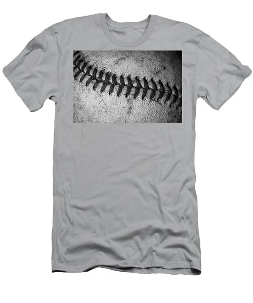 Men's T-Shirt (Slim Fit) featuring the photograph The Curve Ball by David Patterson