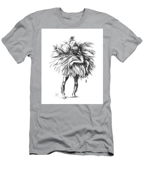 The Dance Macabre Men's T-Shirt (Slim Fit) by Yvonne Wright