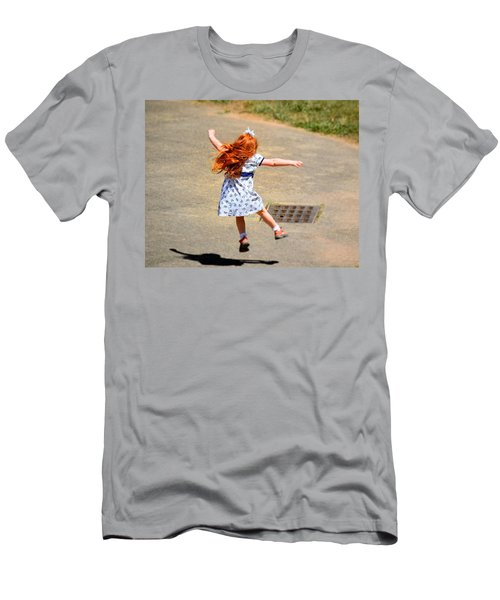 A Little Expression Men's T-Shirt (Slim Fit) by Gary Smith
