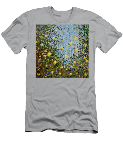 The Dandelion Patch Men's T-Shirt (Athletic Fit)