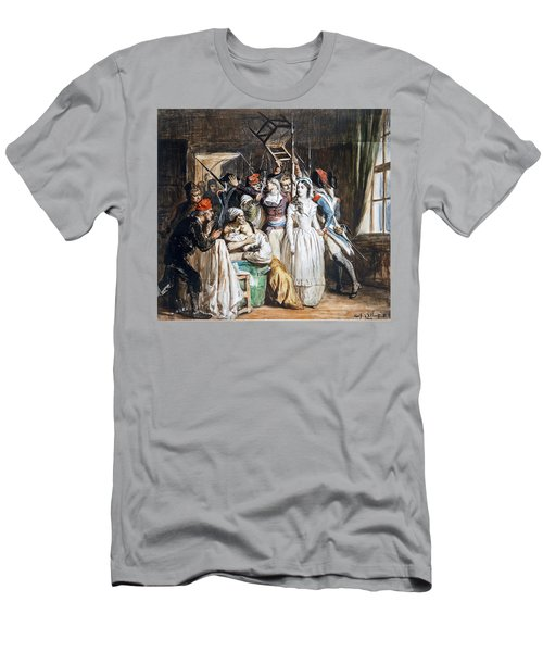The Death Of Marat Men's T-Shirt (Athletic Fit)