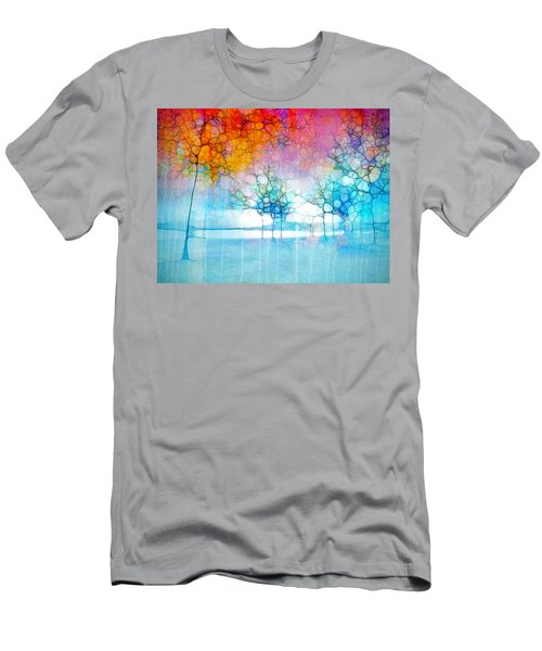 The Departing Trees Men's T-Shirt (Athletic Fit)