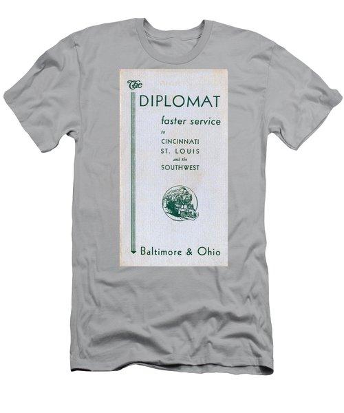 The Diplomat Men's T-Shirt (Athletic Fit)