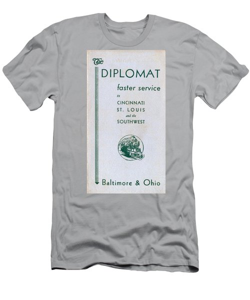 The Diplomat Men's T-Shirt (Athletic Fit)
