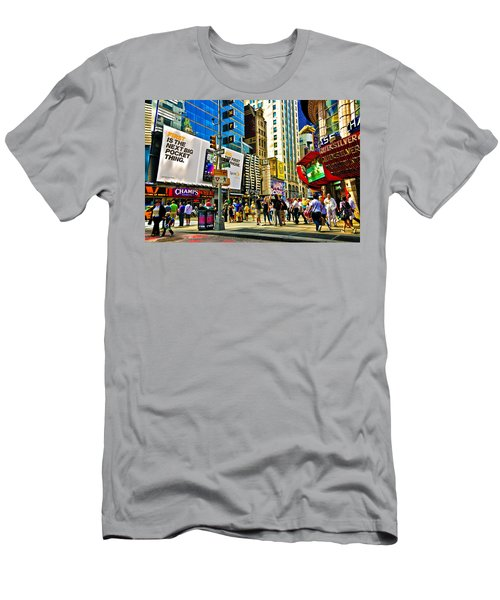 The Dirty Old City -nyc Men's T-Shirt (Athletic Fit)