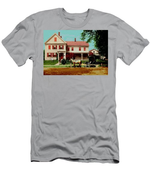 The Doctor Heads Out On A House Call Men's T-Shirt (Athletic Fit)