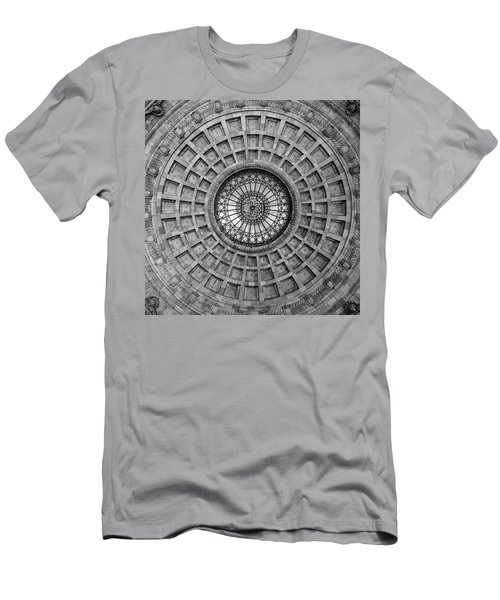 The Dome Bw  Men's T-Shirt (Athletic Fit)
