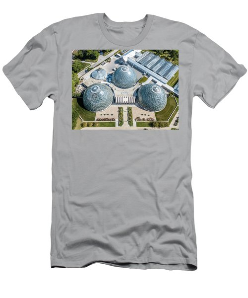 Men's T-Shirt (Athletic Fit) featuring the photograph The Domes by Randy Scherkenbach