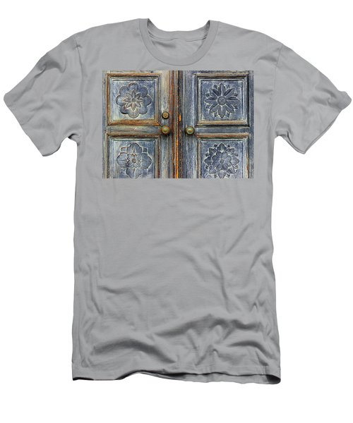 Men's T-Shirt (Slim Fit) featuring the photograph The Door by Ranjini Kandasamy